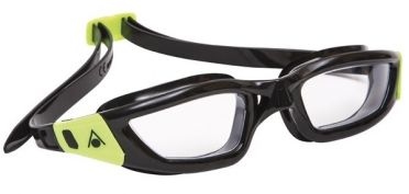 Aqua Sphere Kameleon transparante lens zwembril zwart/lime