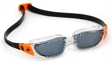 Aqua Sphere Kameleon donkere lens zwembril zwart/oranje