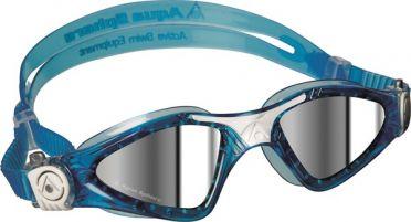 Aqua Sphere Kayenne Small spiegellens zwembril blauw