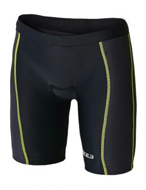 Zone3 Adventure kinder tri shorts zwart/geel