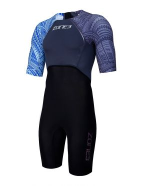 Zone3 korte mouw swim skin heren