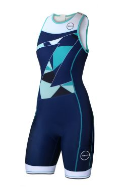 Zone3 Lava long distance mouwloos trisuit dames