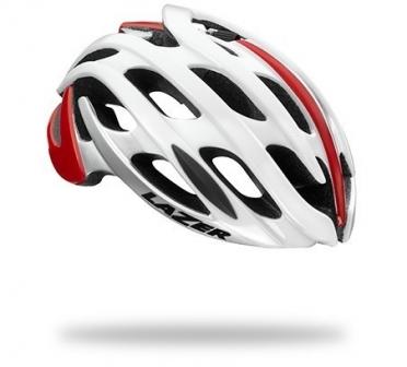 Lazer BLADE Race helm CE wit/rood heren
