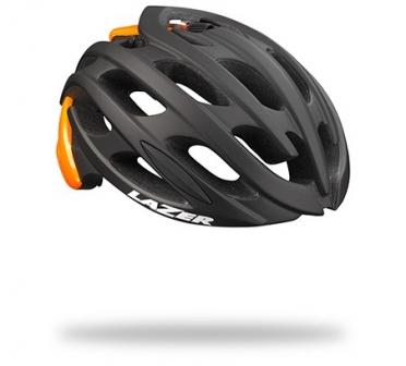 Lazer BLADE Race helm CE mat zwart/flash oranje heren