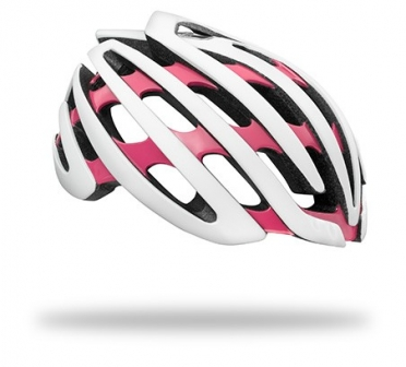 Lazer COSMO Race helm CE wit/coral dames