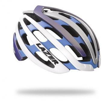 Lazer Z1 CE Race helm blauw/zilver heren