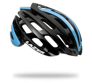 Lazer Z1 CE Race helm zwart/belgian blauw heren