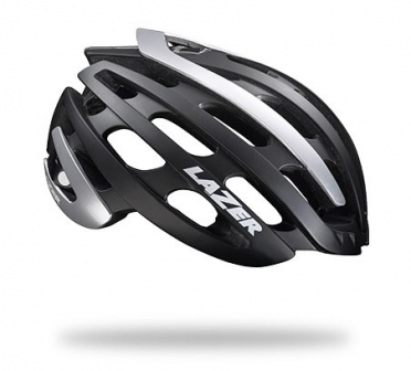 Lazer Z1 CE Race helm zwart/zilver heren