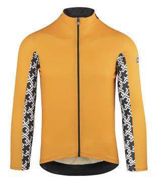 Assos Mille GT lange mouw fietsshirt oranje heren