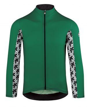 Assos Mille GT lange mouw fietsshirt groen heren