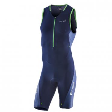 Orca 226 Perform race mouwloos trisuit blauw/groen heren