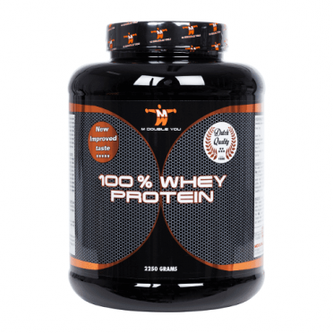 M Double You 100% whey protein 2250 gram