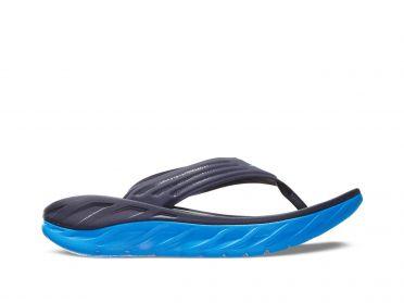 Hoka One One ORA Recovery Flip slippers blauw heren