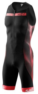 Sailfish Competition trisuit zwart/rood heren