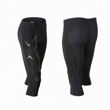 2XU 3/4 Elite Merino thermal compression tight MA3183b zwart