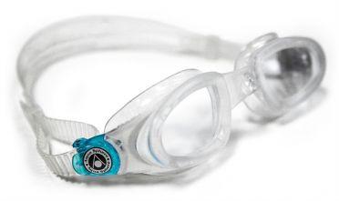 Aqua Sphere Mako transparante lens zwembril silver