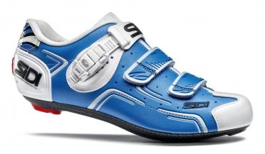 Sidi Level carbon raceschoen blauw/wit heren