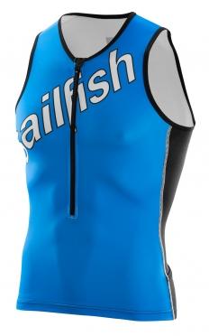 Sailfish Team Tri top blauw/wit heren