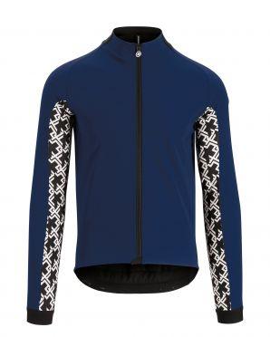 Assos Mille GT ultraz winter lange mouw jacket blauw heren