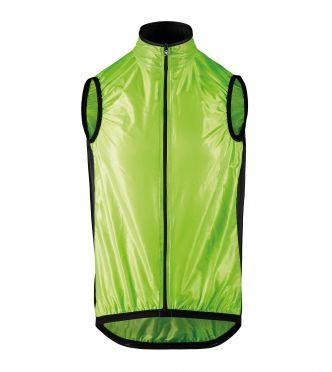 Assos Mille GT wind vest fietsjack groen heren