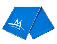 Mission Enduracool Tech Knit Towel blauw sport