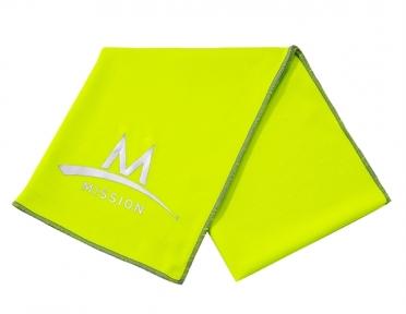 Mission Enduracool Tech Knit Towel High Vis green