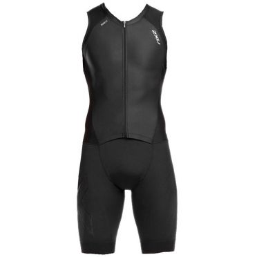 2XU Compression mouwloos trisuit zwart heren 2018