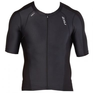 2XU Compression Korte mouw tri top zwart heren 2018