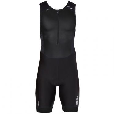 2XU Perform sleeveless trisuit zwart heren
