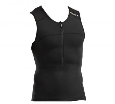 2XU Active mouwloos tri top zwart heren