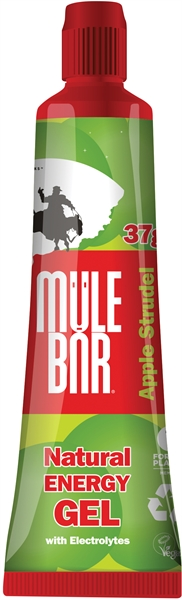 MuleBar Gel apple strudel 24 x 37 gram