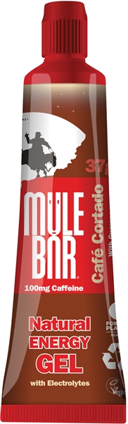 MuleBar Gel cafe cortado 24 x 37 gram