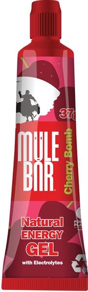 MuleBar Gel Cherry Bomb - 37g 24 stuks