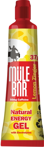 MuleBar Gel Lemon Zinger - 37g 24 stuks