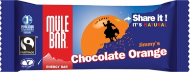 MuleBar Reep jimmy's chocolate orange 30 x 40 gram