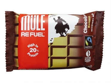 MuleBar Refuel Chocolate and banana 20 x 65 gram