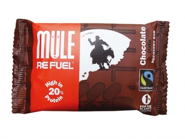 MuleBar Refuel Chocolate and date 20 x 65 gram