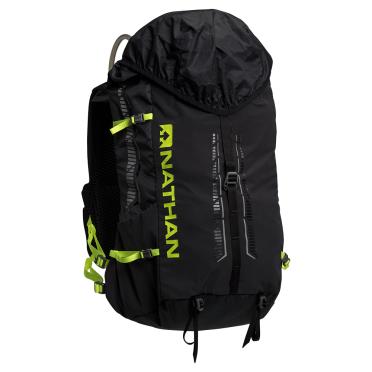 Nathan Journey fastpack 25L outdoor rugzak zwart/safety geel
