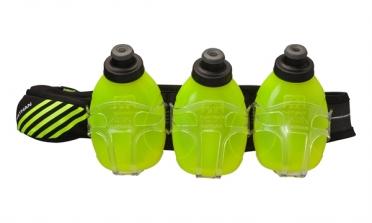 Nathan Mercury 3 drinkgordel Black/Safety Yellow
