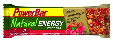Powerbar Natural Energy Fruit & Nut Bar 24 x 40 gram