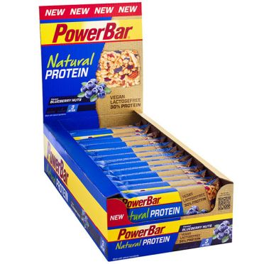 Powerbar Natural protein bar bosbessen 24 x 40 gram