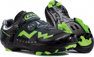 Northwave Extreme tech MTB mountainbikeschoen zwart/groen