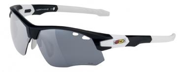 Northwave Galaxy sportbril mat zwart/wit