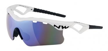 Northwave Steel sportbril wit/zwart