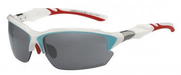 Northwave Volata sportbril wit/blauw/rood