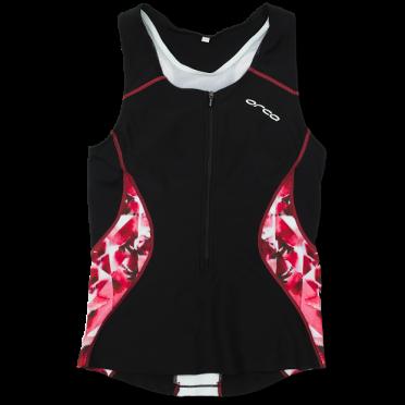 Orca Core tri top zwart/roze dames