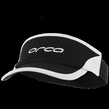 Orca Run visor zonneklep Flexi-Fit zwart/wit