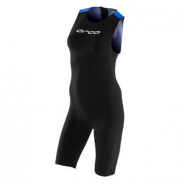 Orca 226 perform swimskin mouwloos zwart/blauw dames