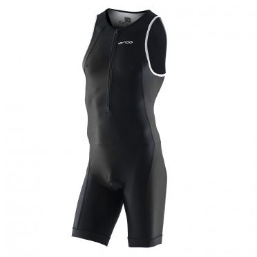 Orca core basic race trisuit mouwloos zwart heren