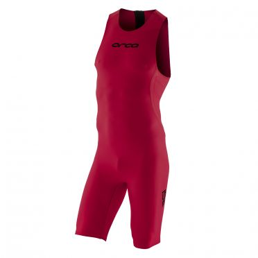 Orca RS1 swimskin mouwloos rood heren